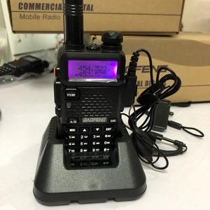 Image 1 - 2019 Baofeng DM 5R walkie talkie Vhf Uhf Dmr Repeater podwójny czas gniazdo Dm 5R cyfrowe analogowe Radio dwuzakresowe Walkie Talkie
