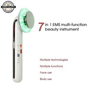 Image 4 - 7 w 1 EMS ultradźwiękowy ciała twarzy odchudzanie anty cellulit spalić tłuszczu kawitacji wyszczuplanie ciała odchudzanie terapia twarzy masażer