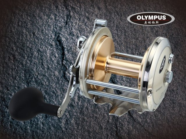 Free shipping, GF1100, 3BB, Sea,Boat,drum,Jigging reel