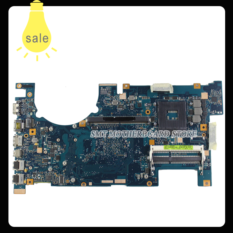 For Asus Motherboard G75V G75VX REV2.0 Mainboard 2D Connector PGA989 60-NLEMB1101 Fully Tested g75vx laptop motherboard rev 2 0 ddr3 non integrated 100% tested 2d connector 4ram slots mainboard