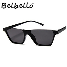 Belbello Semi-Rimless Sunglasses Women Sport Style Color Fashion Mens Retro Trend Driving Beach Glasses