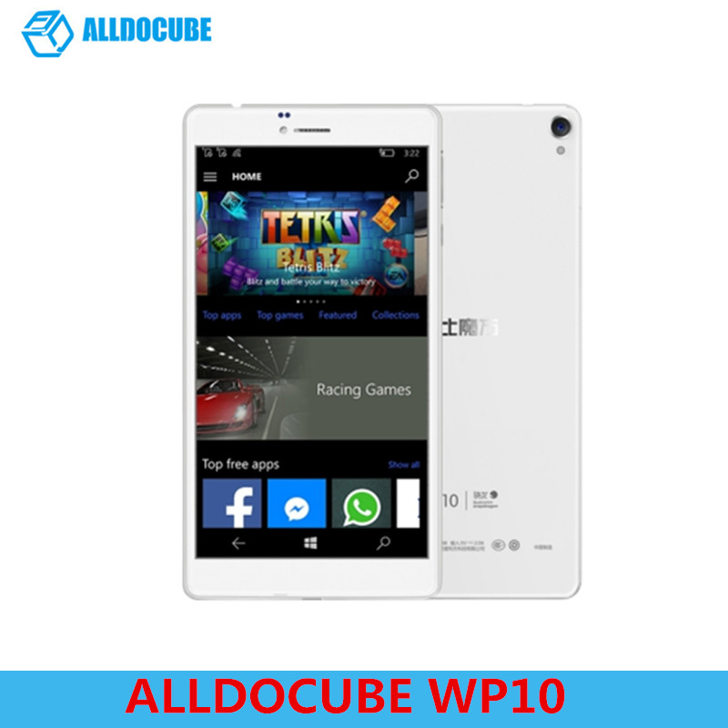 ALLDOCUBE WP10 Tablet PC 6,98 ''4g LTE Anruf Tablet Windows 10 Mobile Quad Core 1,3 ghz 2 gb RAM 16 gb Kamera WiFi OTG GPS