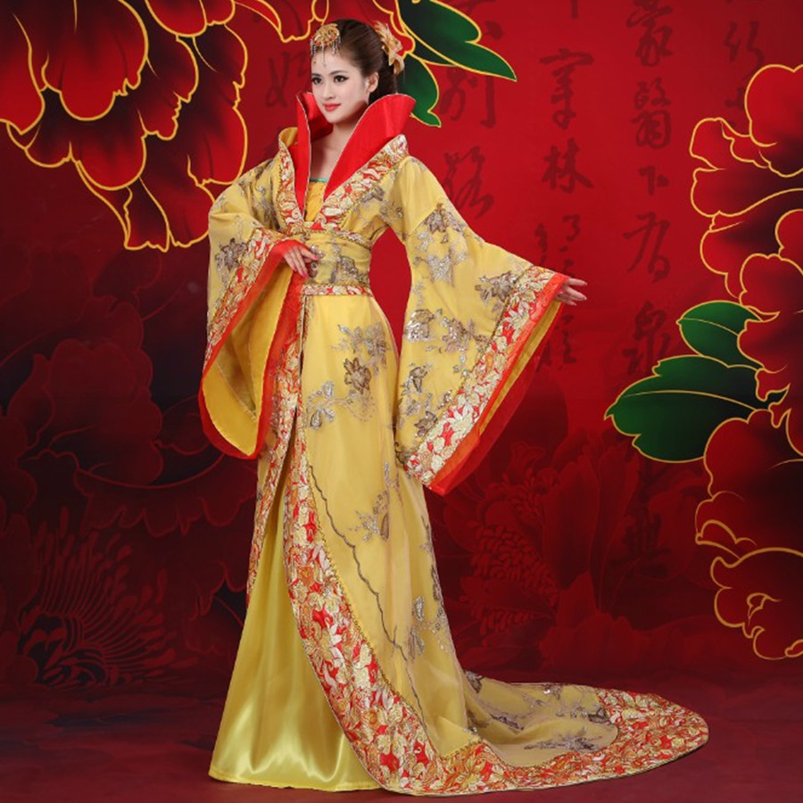 New arrival classical tang suit hanfu princess fairy clothes folk dance Chinese ancient costumes Women's