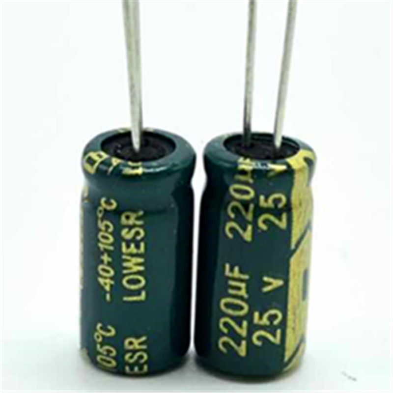 Lovely 30pcs/lot 25v 220uf 6*12 High Frequency Low Impedance Aluminum Electrolytic Capacitor 220uf 25v Relieving Rheumatism