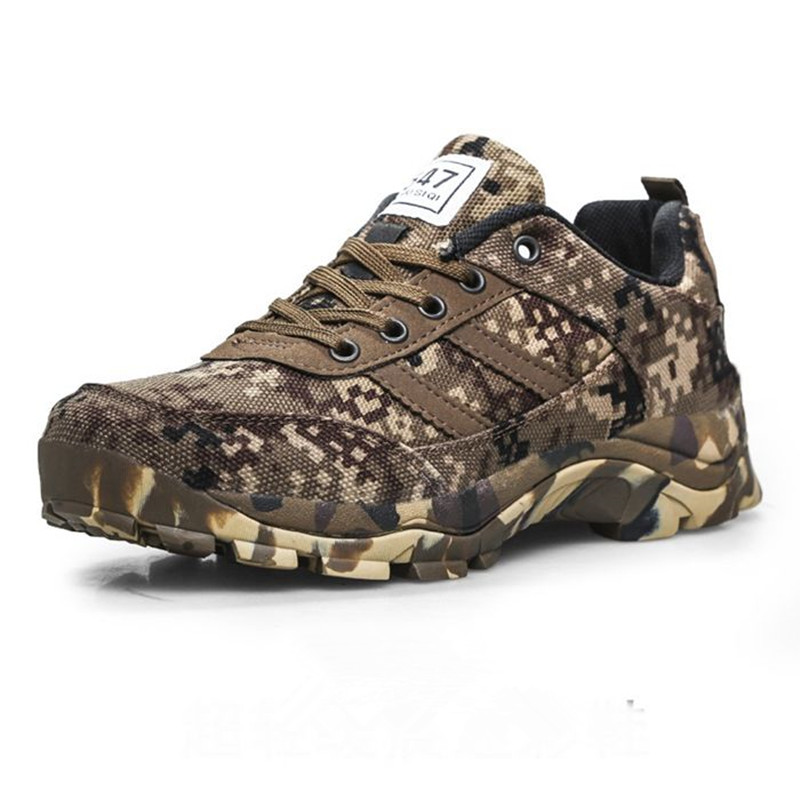 36-46 Size Men Women Desert Camouflage Wool Thermal Tactical Boots Winter Outdoor Skiing Climbing Fleece Thicken Warm Ankle Shoe