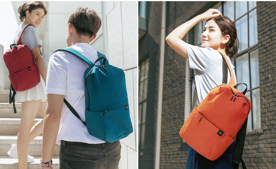 Original Xiaomi 10L Backpack Bag Colorful Leisure Sports Chest Pack Bags Unisex For Mens Women Travel Camping (10)