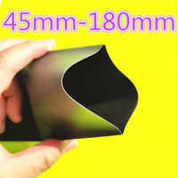 1meter 2:1 Black 45mm 50mm 60mm 70mm 80mm 90mm 100mm 120mm 150mm 180mm Heat Shrink Heatshrink Tubing Tube Wire Dropshipping