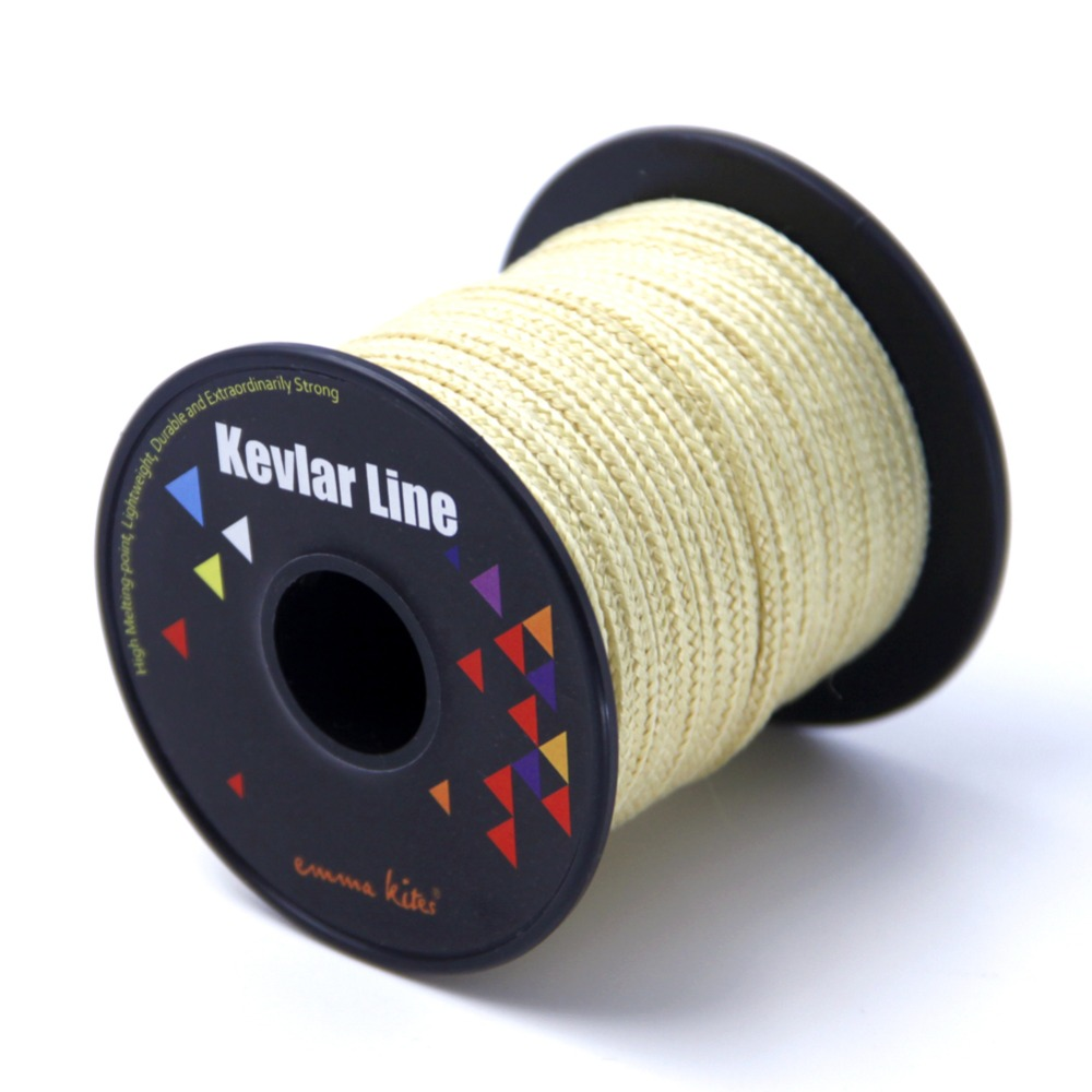 50ft 15m 2000lbs braided kevlar fishing line outdoor for Kevlar fishing line
