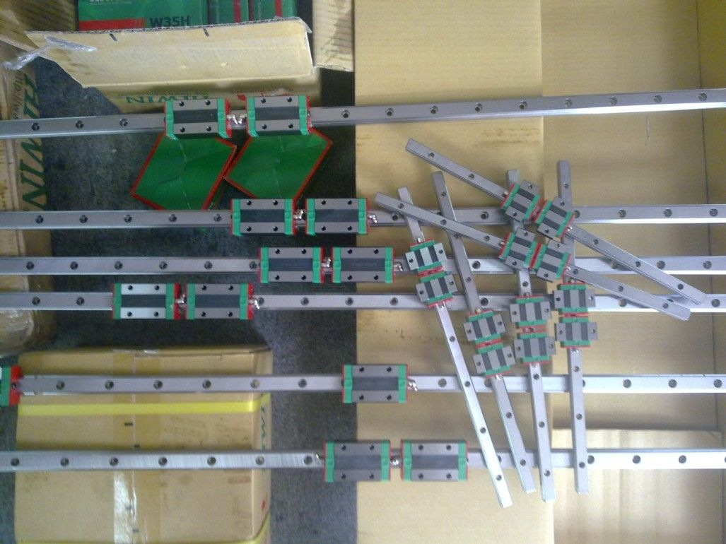 CNC HIWIN EGR25-2900MM Rail linear guide from taiwan free shipping to argentina 2 pcs hgr25 3000mm and hgw25c 4pcs hiwin from taiwan linear guide rail