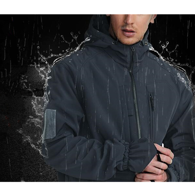 Outdoors Hiking Charge Clothes Classic Army Fans M65 Windbreaker Wear-resistant Warm Anti-fouling Waterproof Windproof Jackets Camping & Hiking