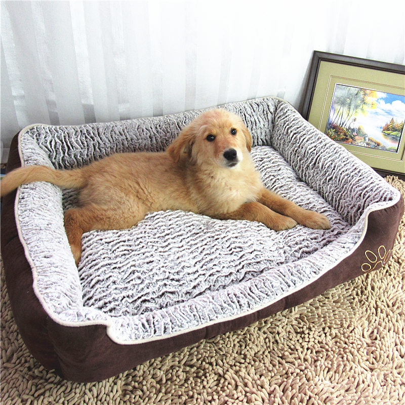 luxury large dog bed sofa dog cat pet cushion for mat. Black Bedroom Furniture Sets. Home Design Ideas
