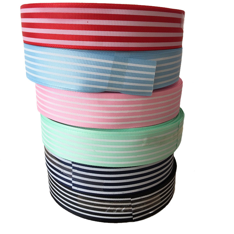 Sewing Room Gift Wrapping Room: 50 Yards Grosgrain Printed Ribbon DIY Gift Wrapping