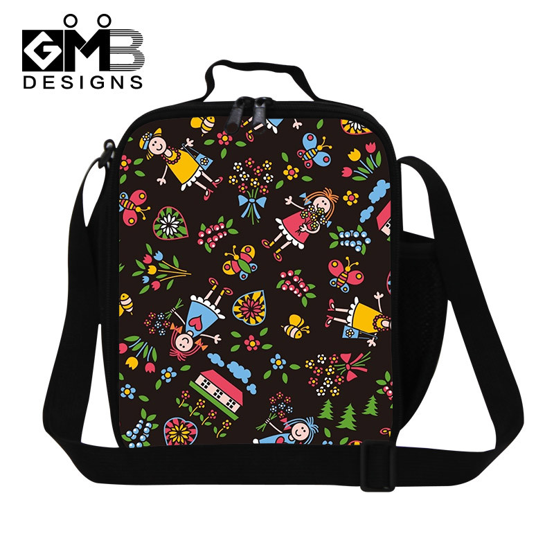 Fashion Character Lunch Bag For Kids Boys Teenage Mutant Ninja Turtle Cooler Lunch Bag TMNT For School Children