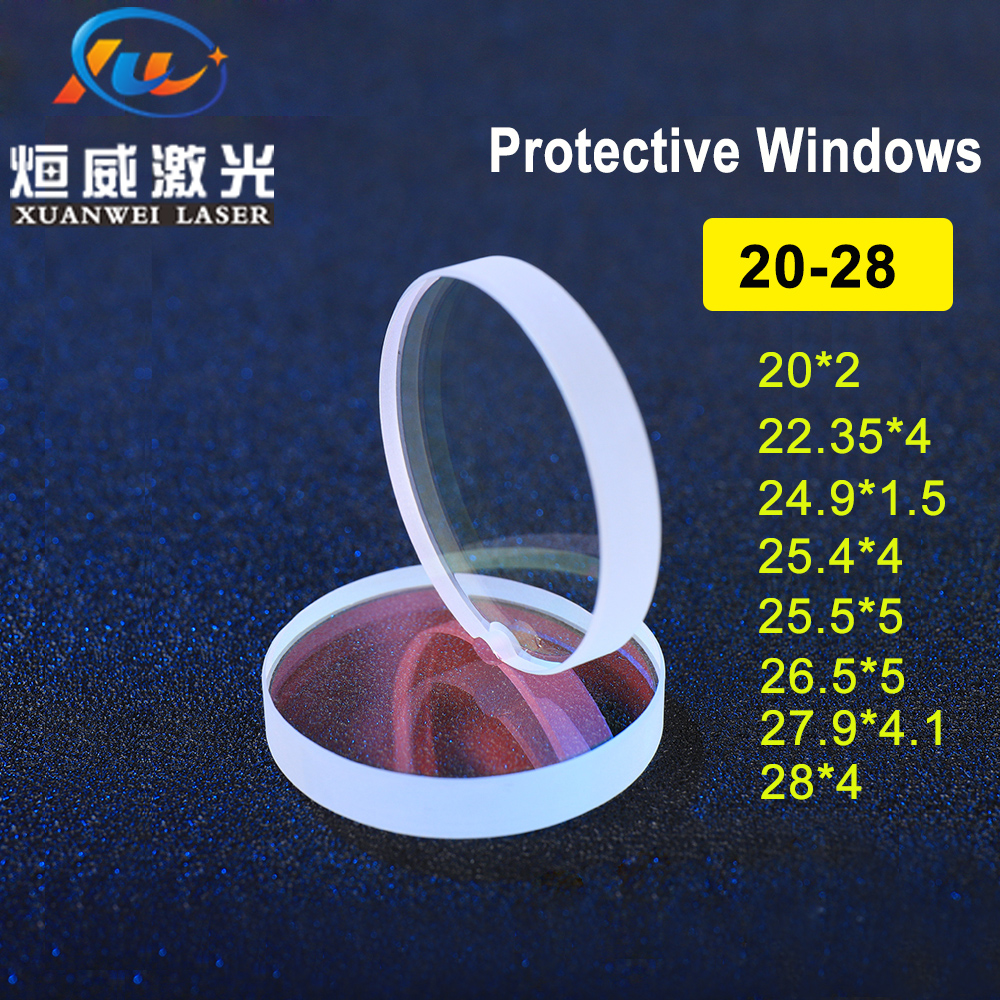 Back To Search Resultstools Lenses Purposeful Glass Laser Protection Lens Window Protective Windows Dia22.35/24.9/25.4/26.5/27.9/28 Fiber Laser Cutting Machine Debris Shield