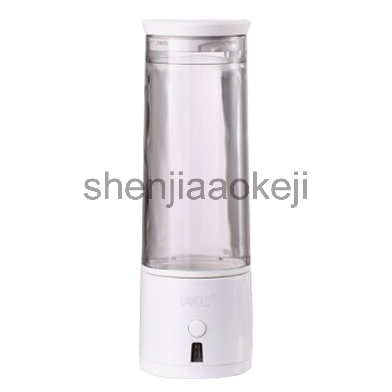 Rich hydrogen water cup Hydrogen oxygen separation up to 2800 ppb Small molecule electrolysis weak alkaline generator separationRich hydrogen water cup Hydrogen oxygen separation up to 2800 ppb Small molecule electrolysis weak alkaline generator separation