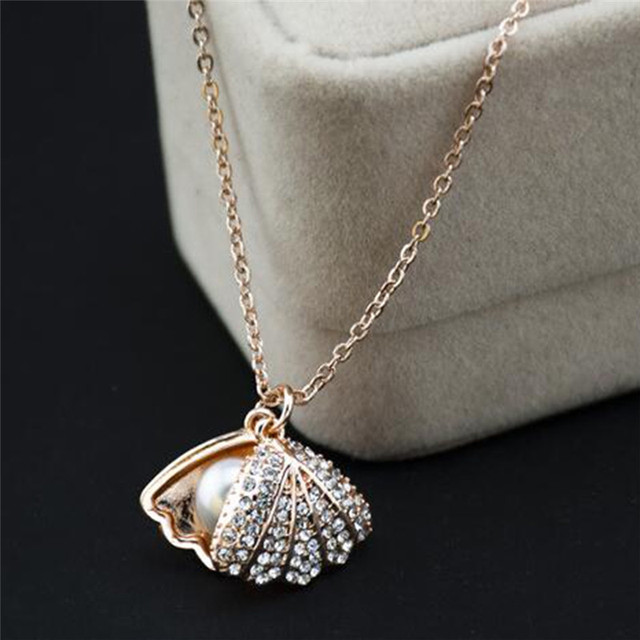 nymphenburg designer co oyster end biscuit jewelry necklace pieces kneen tm high luxury pendants white pendant scallop