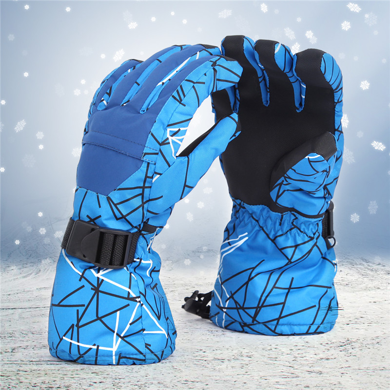 Skiing TPU Motorcycle Riding Waterproof Ski Gloves Winter Warm Thick Snow glove Snowboard Gloves