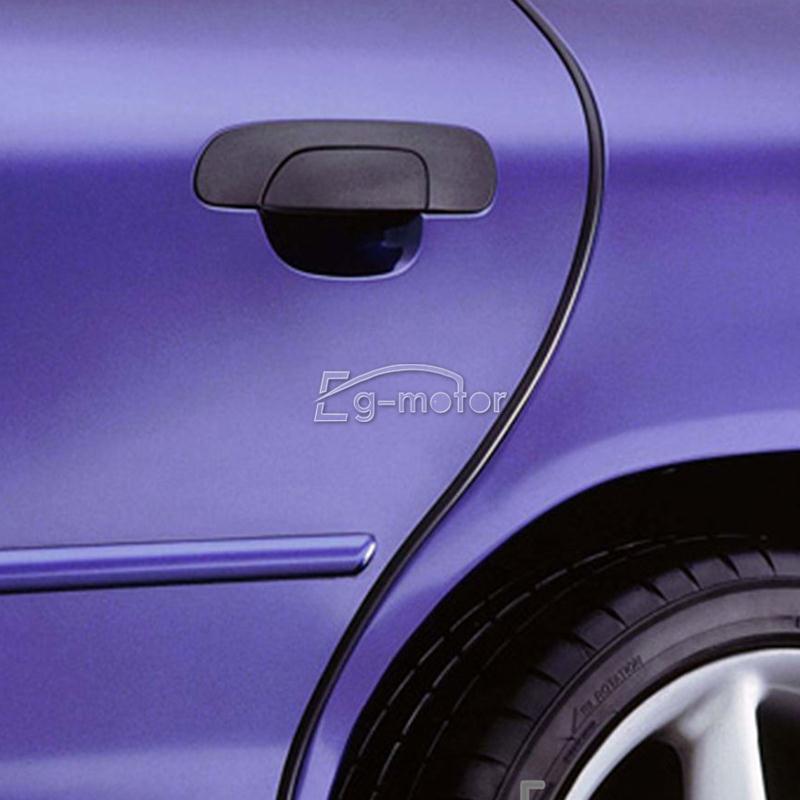Gratis pengiriman Universal Hitam Mobil Pintu Ujung Penjaga Moulding - Suku cadang mobil - Foto 2