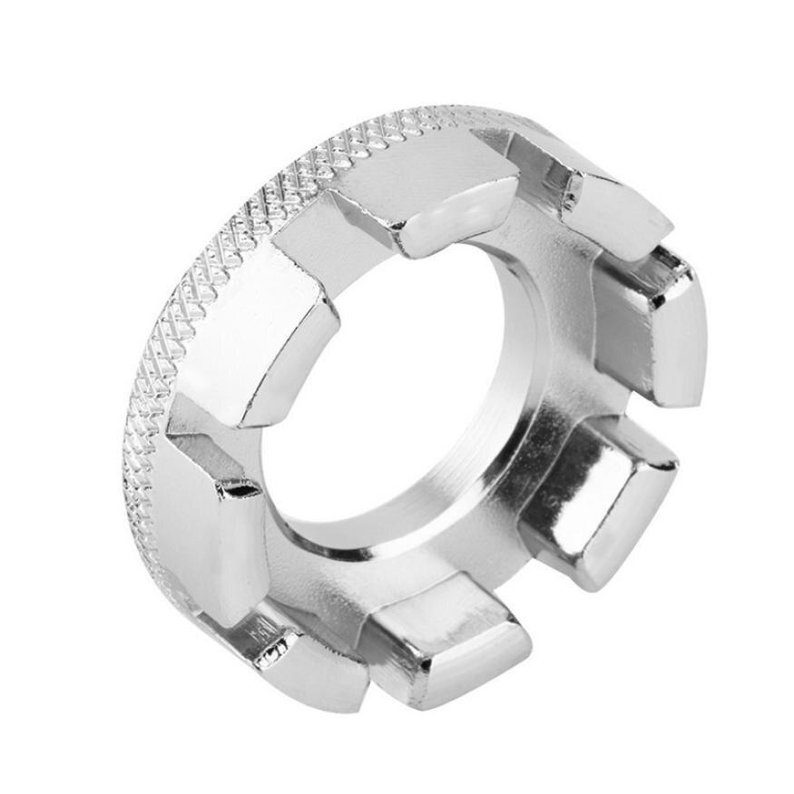 2 PCS 360° Rotation Spoke Tensioner Universal Spoke Wrench Steel Durable Tool
