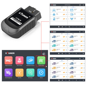 Image 3 - XTUNER E3 V10.7 Scanner OBD2 WiFi Full Systems Diagnostic Tool Auto Scanner for Diag/EXP/Main Service Battery DPF Reset