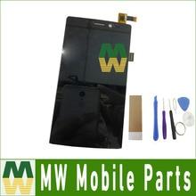 "1 PC/Lot 5.0 ""Para Archos 50 Diamond Pantalla LCD + Pantalla Táctil Digitalizador Asamblea Color Negro"