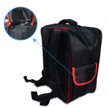 Phantom 4 Red No Liner Waterproof Backpack Soft Bag Shoulder Bag Drone Backpack Outside Carrying Case for Phantom 4 Series Bag