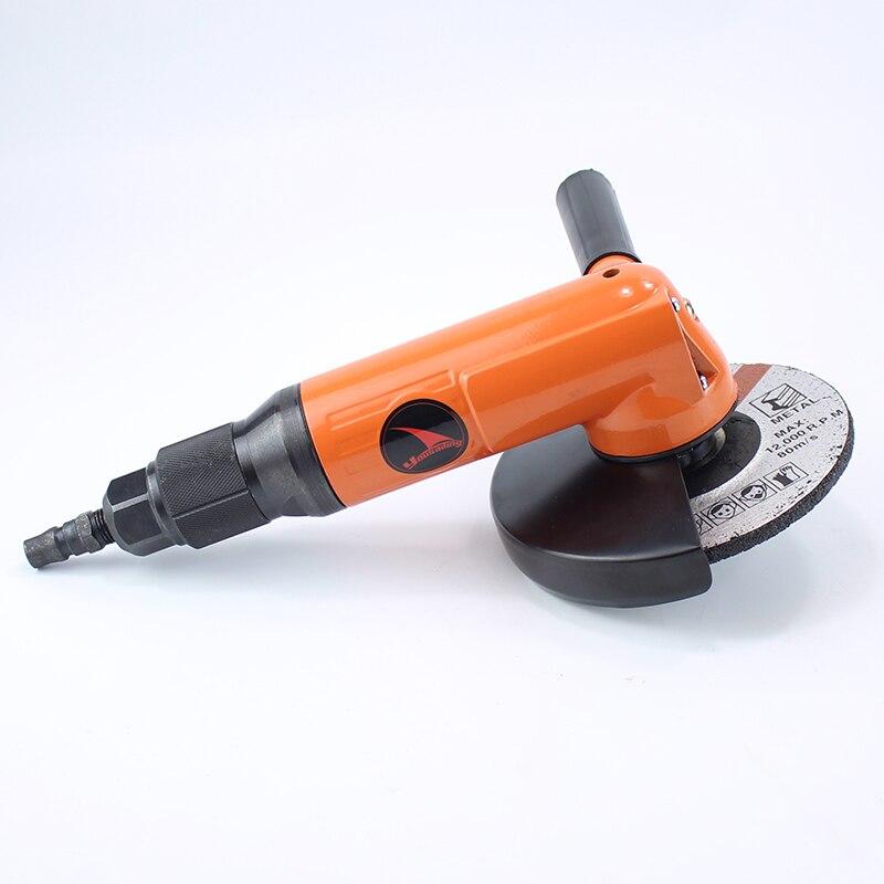 SIE SAILIN Qualität 5 Zoll 125mm Industrielle Ebene Pneumatische Winkel Grinder-Tool Air Grinding Maschine 90 Grad Air Grinder werkzeug