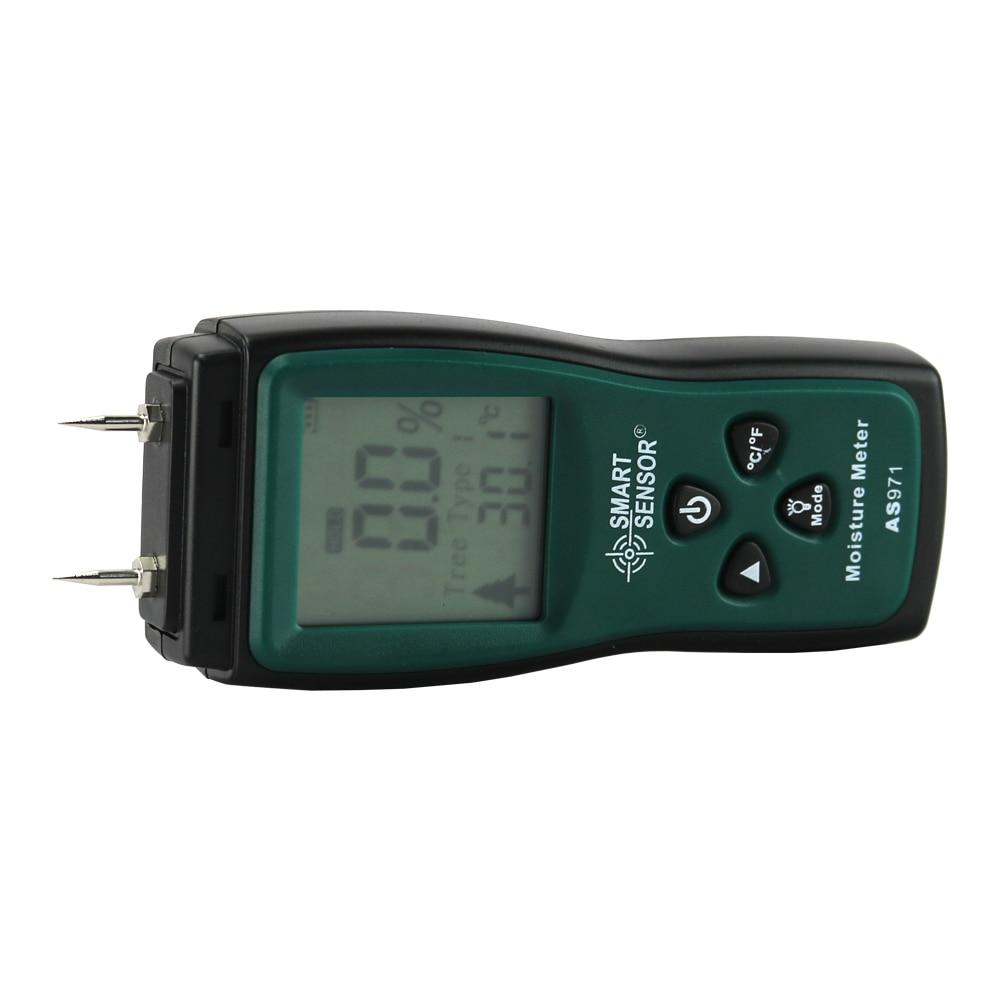 Fa nedvességmérő nedvességmérő fűrészáru nedvességmérő - Mérőműszerek - Fénykép 4