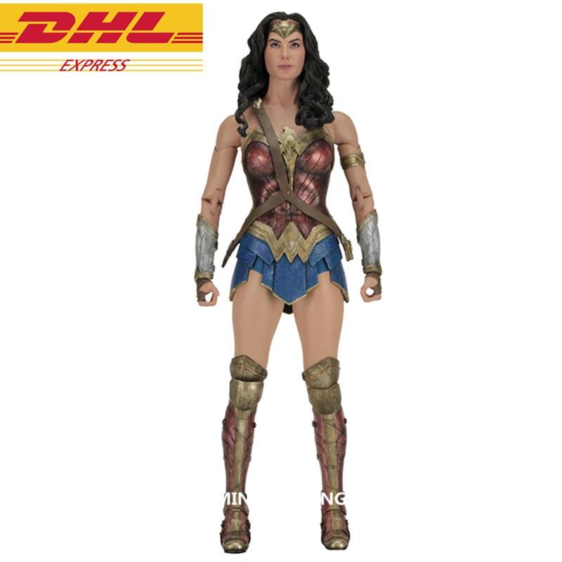 Justice League Superhero 1/4 Wonder Woman Supergirl Shield And Sword Full-Length Portrait PVC Action Figure Toy D376 statue justice league bust superhero batman and wonder woman full length portrait pvc action figure collectible model toy d297