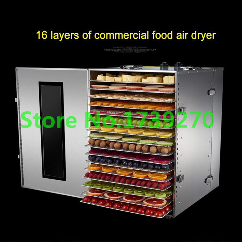 Temperature time control Stainless Steel fruit dehydrator machine dryer for fruits and vegetables food processor drying fish корм tetra tetramin xl flakes complete food for larger tropical fish крупные хлопья для больших тропических рыб 10л 769946