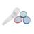 CE 3 Tratamientos en 1 Sistema de Terapia de Luz LED Rojo Azul Verde LLEVÓ la Luz para el Acné, anti-arrugas Instrumento de la belleza
