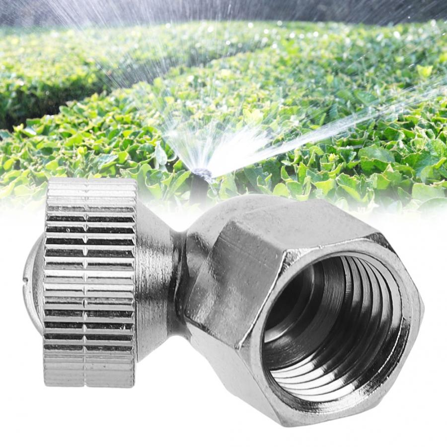 2PCS Stainless Steel Misting Nozzle Kit,High Pressure G3//8 Female Threaded Sprayer Nozzle Watering Lawns
