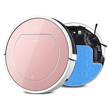 2016 ILIFE Wet Robot Vacuum Cleaner for Home Wet Dry Clean Water Tank Double Filter,Ciff Sensor,Self Charge V7S ROBOT ASPIRADOR