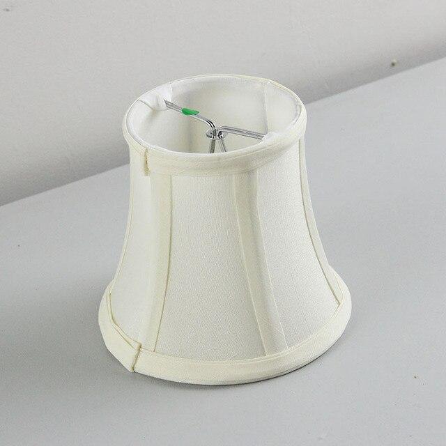 Andelier Mini Japanese Lampenschirm, Kronleuchter Mini Lampenschirm,  Cottage Stil Stoff Lampenschirme Abdeckungen, Clip