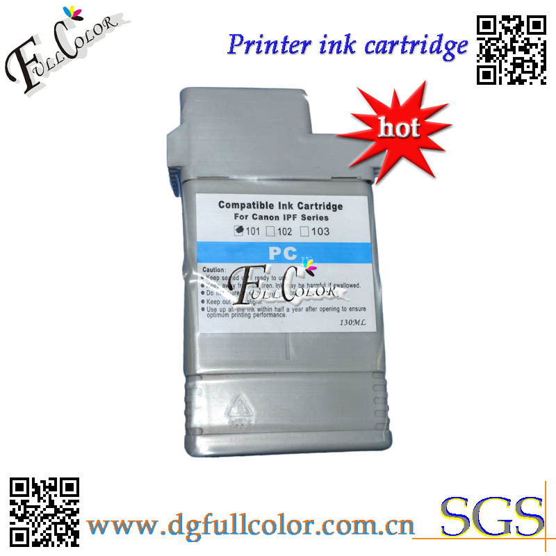 Free shipping PFI101 ink tank with high quality resin pigment ink and original chip for  IPF6000s ink cartridge original and free shipping mbp 208 isa at high quality