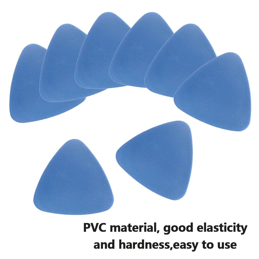 10 PCS Phone Opening Tools Plastic Guitar Picks Pry Opener For IPhone For IPad Tablet PC Disassemble Repair Tool Kit