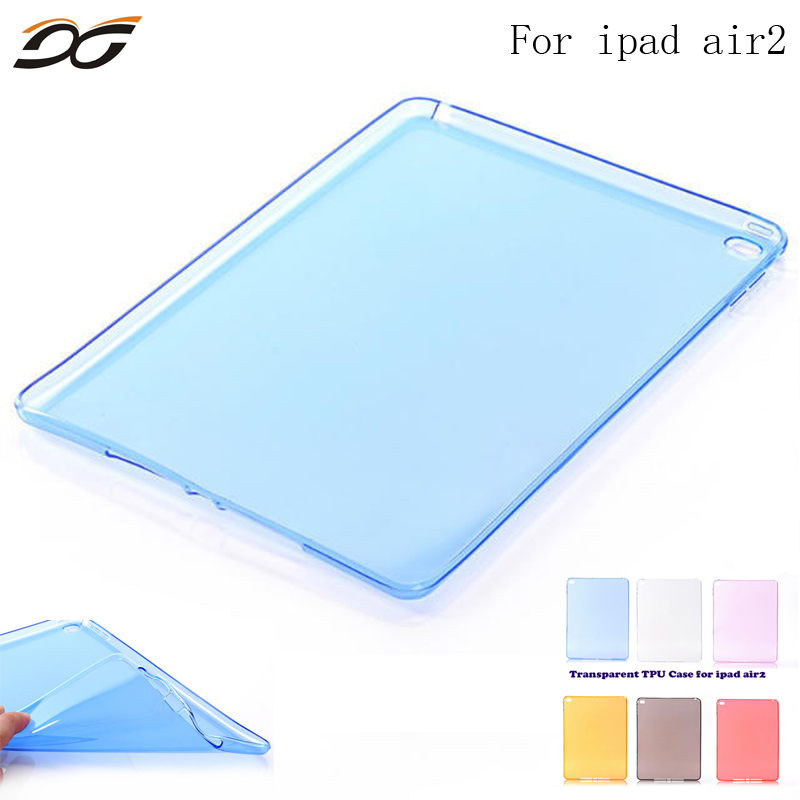 For iPad Air 1 Air 2 Case High Quality Soft TPU Bottom Back Case Cover for 9.7inch iPad Air1 Air2+Free Stylus and Screen Film for ipad mini4 cover high quality soft tpu rubber back case for ipad mini 4 silicone back cover semi transparent case shell skin