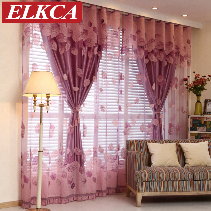 Buy Luxury Window Curtains Set For Living