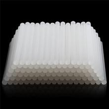 High Quality (10 20)Pcs Lot 7mm x100mm Hot Melt Glue Sticks For Electric Glue Gun Craft Album Repair Tools For Alloy Accessories cheap smilemango CN(Origin) 10pcs Translucent Electrical