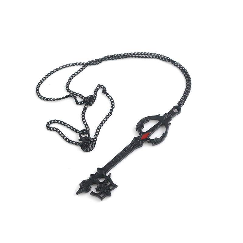 Game Kingdom Hearts Oblivion Blade Necklace Alloy Jewelry Accessories New