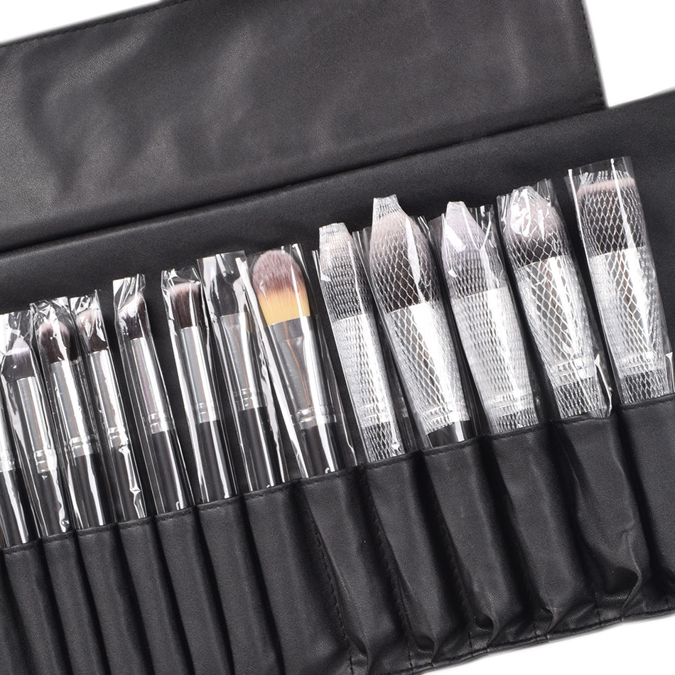 Image 5 - JAF 24pcs Makeup Brushes Tools 100% Vegan Make Up Artist Kit Brushes for Makeup Professional Brush Set #J2425YC B-in Eye Shadow Applicator from Beauty & Health
