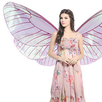 Oriental Dance Costumes Transparent Angel Wings Women Belly Dance Clothes Isis Wings