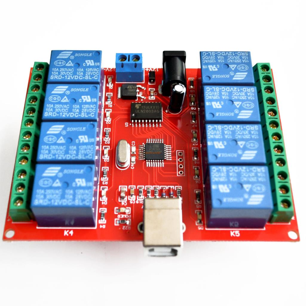 8 channel 12V relay module /computer USB control switch