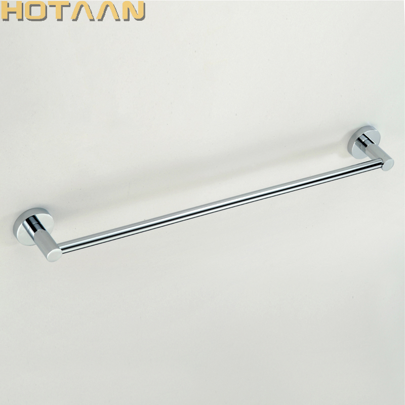 High Quality 304# Stainless Steel Bathroom Accessory,single Towel Bar,towel Rail Free Shipping Towel Holder Yt-10996-a Bright Luster