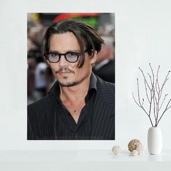 New Products Johnny Depp Wall Art Canvas  2