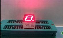 10pcs 7 segment Common Cathode/Anode 1 Bit digital Tube 0.5in. Red/White LED Display 7 segmentos LED Digital tube