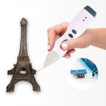 Low Temperature 3D Pen 3D Printer Creativity Best Birthday Gift PCL Filament 3D Printing Pen Scribble Pen for School 2018