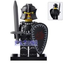 DR TONG 20pcs/lot XH641 Evil Knight Seiya Quest Super Hero Action Figures Building Blocks Bricks Toys Child Gifts Hobbies X0163