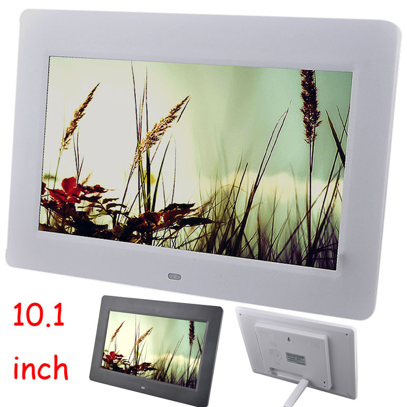 101 inch digital photo frame hd with video mp3 mp4 player electronic picture frame porta retrato digital frame albums portrait in digital photo frame from - Electronic Photo Frames