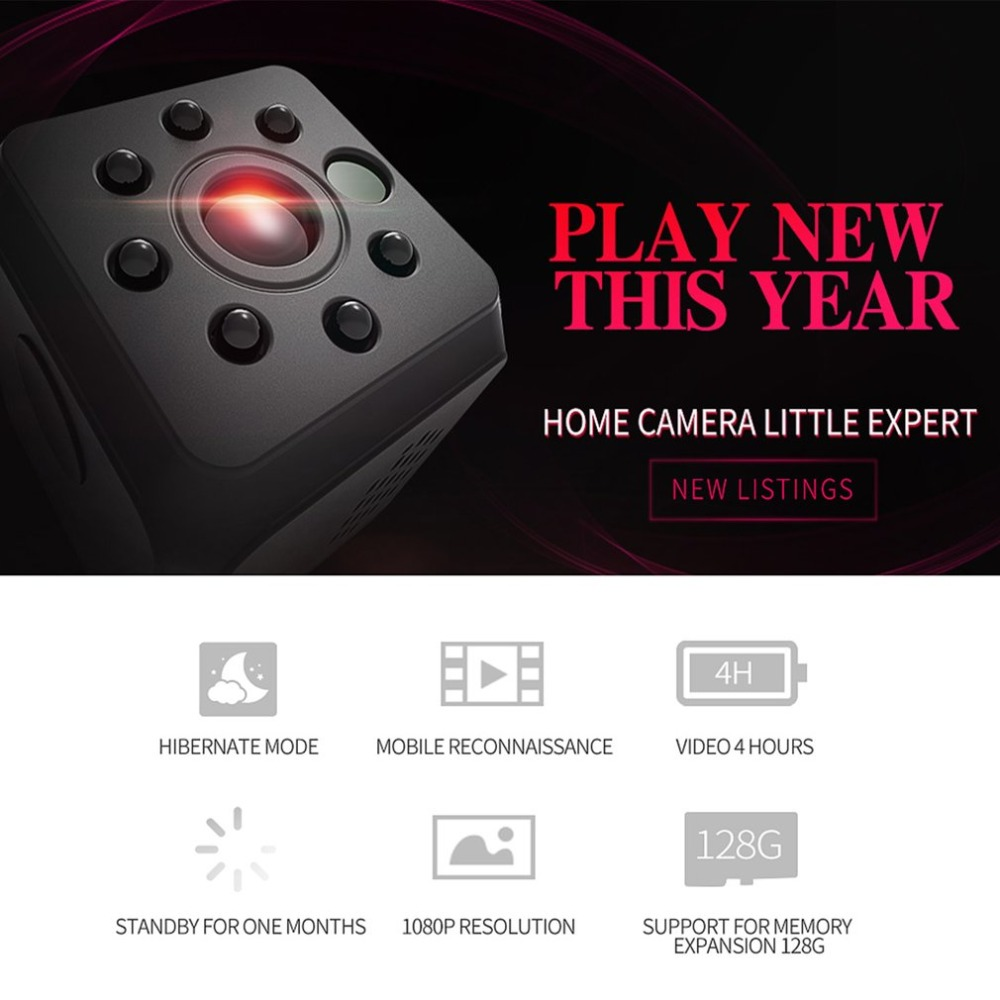 Newest HD 1080P Mini Camera Night Vision Mini Camcorder Sport Outdoor DV Voice Video Recorder Action Camera Support 128GB Card newest idv008 mini camera dv loop video voice recorder hd 1080p 12mp 130 wide angle motion detector with display mini camcorders